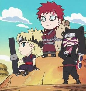 The sand siblings. :3