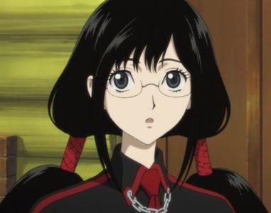 Saya Kisaragi from Blood-C I 爱情 her so much <3