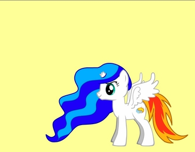 Name: Firefall Gender: Girl Cutie Mark: Yin and yang with আগুন and ice Hobbies: helping people দ্বারা evaporating floods and putting out fires and পাঠ করা Personality: bouncy and ready for fun but cautious due to her powers description: she gt adventurous on দিন when she was young and went to cloudsdale but she হারিয়ে গেছে control and fell and her horn broke but her magic still works due to a spell প্রদত্ত to her দ্বারা Zakora. But shes optimistic so she doesnt mind so she then just goes on with life. fact: has control over আগুন and water Picture of alicorn: