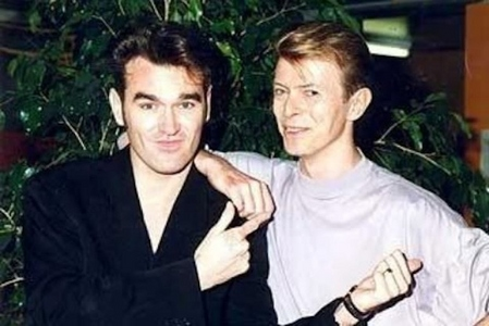 Bowie and Morrissey