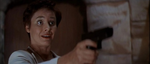 Debbie Salt from Scream 2, Billy's mother.