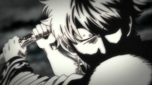 A pissed Gintoki XD