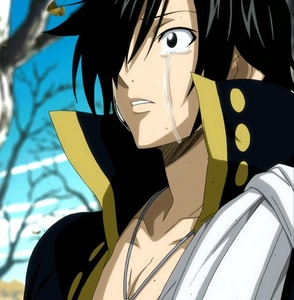I think Zeref from Fairy Tail... He's evil, but he's cute! They make the evil guys cute!