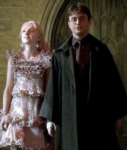 Canon: Ron and Hermione. Non-canon: Harry and Luna.