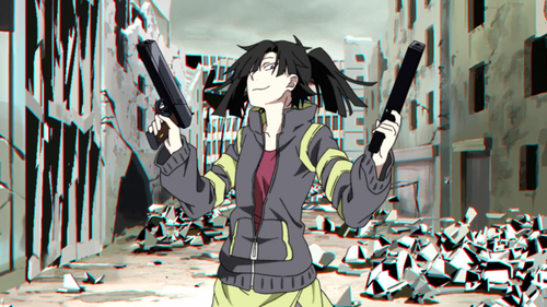 Takane's video game character from Mekakucity Actors.