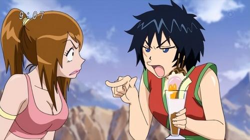 Tina and Rin from Toriko