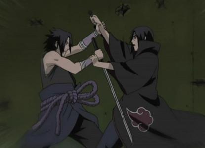 Sasuke v/s Itachi (Naruto Shippuden)