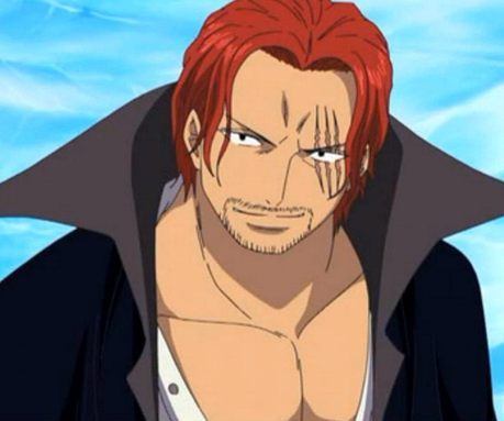 Shanks (One Piece) The one of the 4 emperor's (Yokou) of the sea......... he have very few eps.......but all his eps were epic...i want him to have più screen time.......he he eheh