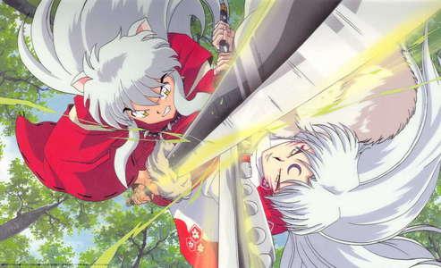 Inuyasha and Sesshomaru