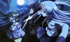 Shiina vs Angel from Angel Beats!