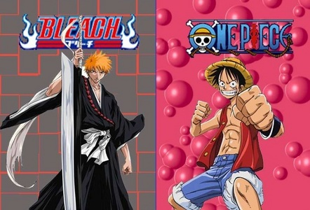 Bleach and One Piece After NARUTO -ナルト- then the best 2 animes are Bleach and One Piece......they r the greatest animes ever..........he he he eh