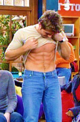 Matthew wearing blue jeans <33333333