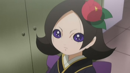 Kikuri (Hell Girl) god this デザイン weirds me out for no reason
