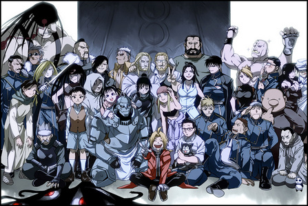 "I am in Fullmetal Alchemist Yeah ""ALL IS ONE AND ONE IS ALL"""