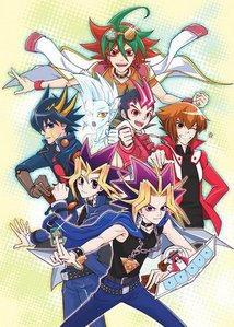 Any of the Yu-Gi-Oh series! ( too many animes to choose from so i'll choose this one)