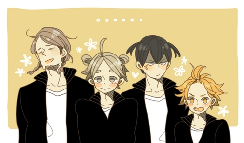 So far my お気に入り that started airing this 年 are Haikyuu, Sekai Wa Utsukushii, Kamigami No Asobi, and Mushishi (2nd season).