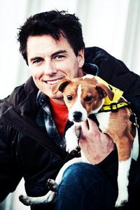 John and dog!