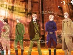 hetalia for me. I actually don't think it has much of a plot actually but I still amor hetalia funny cause I usually like anime with a whole lot of seriousness but this one I actually really like.