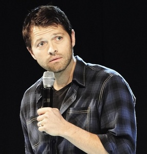 You all knew this was coming didn't you? Misha Collins is just so adorable!