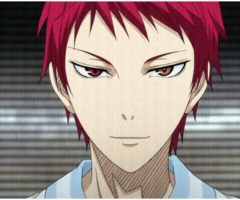 This psycho. Akashi Seijurou from Kuroko no Basuke. I don't care what anyone says about what he did in his debut. I STILL LOVE HIM!