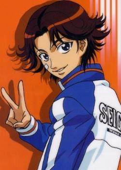 Eiji Kikumaru from Prince of tennis :3