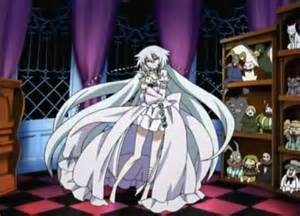 Alice and The Will of the abyss have really long hair. Anime: Pandora Hearts ছবি of: Will of the Abyss (Alice and the will of the abyss are twins)