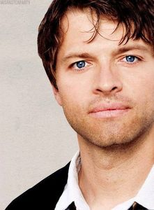 Think of the bluest eyes you've ever seen. Okay. Now forget it because Misha's are bluer.
