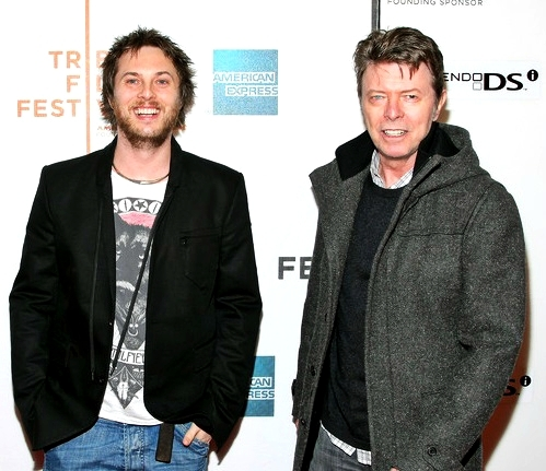 old as f*ck with his son Duncan Jones <3