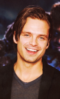 Two Words- Sebastian Stan. And there's so much Mehr to him than only his looks. If Du could also see it, you'd say the same thing as me. :)