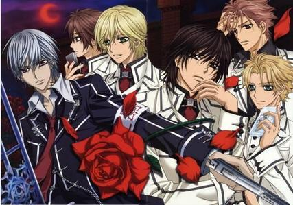 'vampire knight' (pic).... and 'brothers conflict' too...