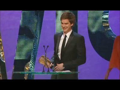 BAFTA Awards 2008 Andrew 加菲猫 wins the Best Actor