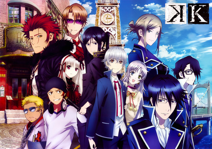Here's a few that come to mind: -K -Fruits Basket -Magi -The Legend of Legendary Heroes -Durarara!! -Uta no Prince -sama (so I've heard) NOTE: While the shows I've listed have handsome male characters, they aren't always the main character and with the exception of Prince-sama, don't really focus on the attractiveness of the guys.
