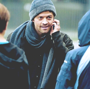I was going to post Jensen but someone already has so here's Misha Collins. ^_^