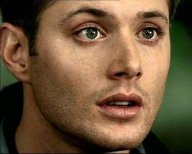 Jensen Ackles. I love his beautiful green eyes. <3
