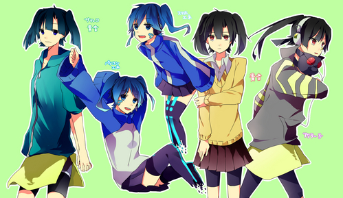 "10. Kirisaki Chitoge (Nisekoi) 9. Nakano Azusa (K-ON!) 8. Misaka Mikoto (To Aru Majutsu no Index) 7. Hinamori Amu (Shugo Chara!) 6. Sakura Kyouko (Puella Magi Madoka Magica) 5. Kido Tsubomi (Mekakucity Actors) 4. Kozakura Mary (Mekakucity Actors) 3. Kisaragi Momo (Mekakucity Actors) 2. Tateyama Ayano (Mekakucity Actors) 1. Enomoto ""Ene"" Takane (Mekakucity Actors)"