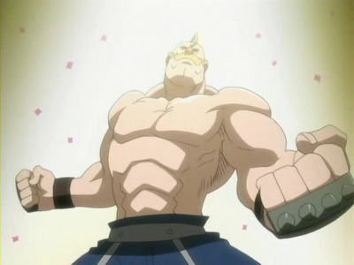 The always sparkly and manly... ALEX LOUIS ARMSTRONG!!! (FullMetal Alchemist)