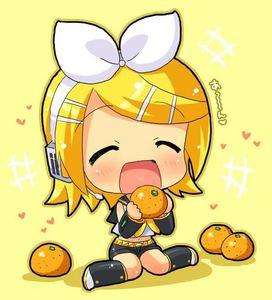 I 愛 Rin ^^ 1. Rin 2. Gumi 3. Len 4. Miku