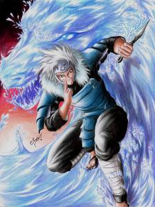 Here's a few I know that control water: 1. Juvia Lockser (Fairy Tail) 2. Tobirama Senju (Naruto/Shippuden)  3. Suigetsu Hozuki (Naruto Shippuden) 4. Kisame Hoshigaki (Naruto/Shippuden) 5. Tsukumi (Sekirei/Pure Engagement) 6. Machina (Dragonaut: The Resonance) 7. Mitarai Kiyoshi (Yu Yu Hakusho)