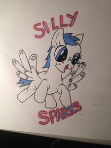 This is my pony sona~ Her names Silly sparks
