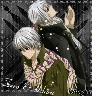 zero and ichiru ~vampire knight bossun and tsubaki ~sket dance