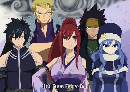 The best Fairy Tail team!! ♥