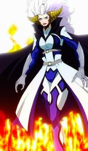 Mirajane in Satan Soul Sitri - Fairy Tail
