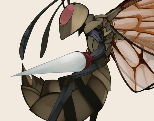 Beedrill. Yeah. They're my favorite, and I find them adorable.