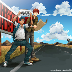 I'm a sucker for ships that are non-canon. But there still some canon/close to canon ships... - Shizaya/Izuo ( Durarara!! ) - Shinra x Celty ( Durarara!! ) - Musashi x Hiruma ( Eyeshield 21 manga only ) - gin, rượu gin x Matsumoto ( Bleach ) - Aomine x Kagami hoặc vice versa ( Kuroko no Basuke )* pic - Kiyoshi x Hanamiya ( Kuroko no Basuke ) - Reiner x Bertholdt ( Shingeki no Kyojin ) - Marco x Jean ( Shingeki no Kyojin ) - Natsuki x Syo ( UtaPri ) Continues rumbling on and on... ( this are my few ships that I ship. I'm limiting 2 ships per show. And I'm going to get killed bởi the number of Yaoi in there. bởi the way, I'm even half done with my danh sách yet. )