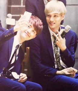 D.O with my bias Kai :))