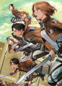 Squad Levi from Attack on Titan.