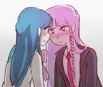 Maizono and Kirigiri