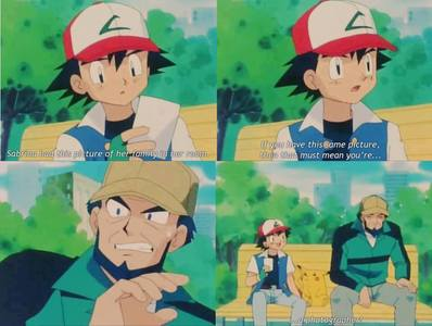 Ash can't have a girlfriend!! He is very very very very ... stupid!!! An example :