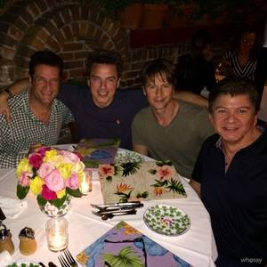 John and Scott with friends!