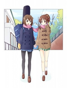 Yui and Ui - K-On